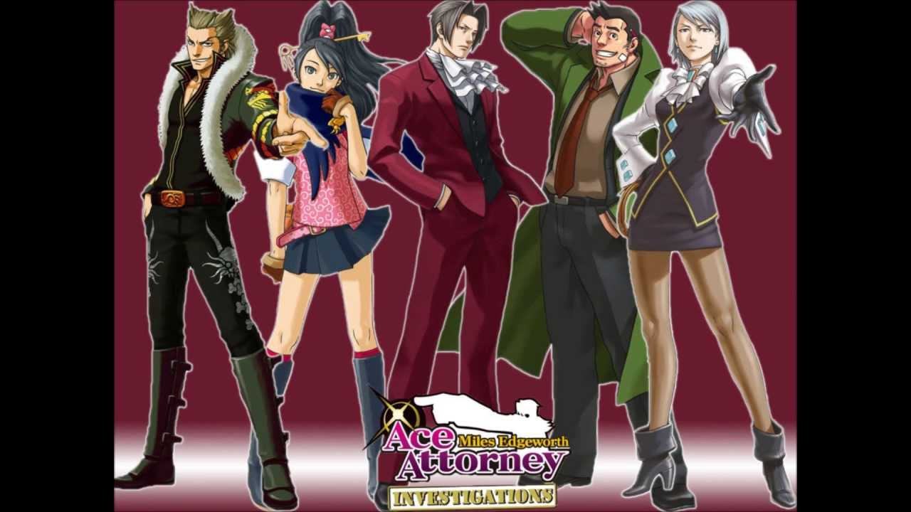 Most Viewed Ace Attorney Investigations Miles Edgeworth