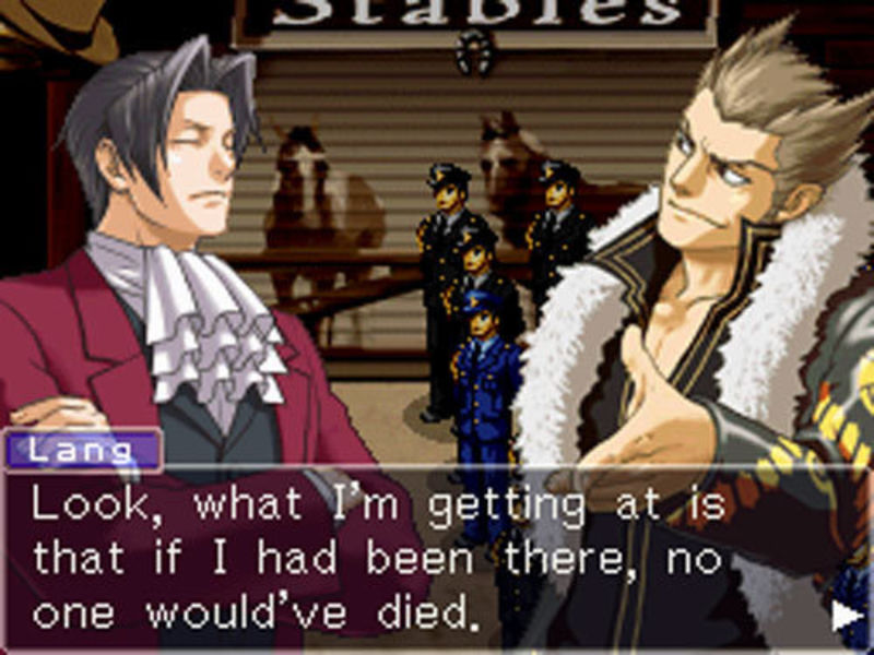 Nice wallpapers Ace Attorney Investigations: Miles Edgeworth 800x600px
