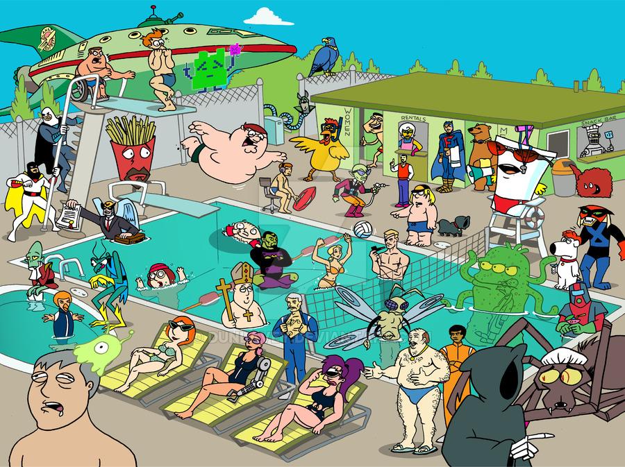 HQ Adult Swim Wallpapers | File 361.64Kb