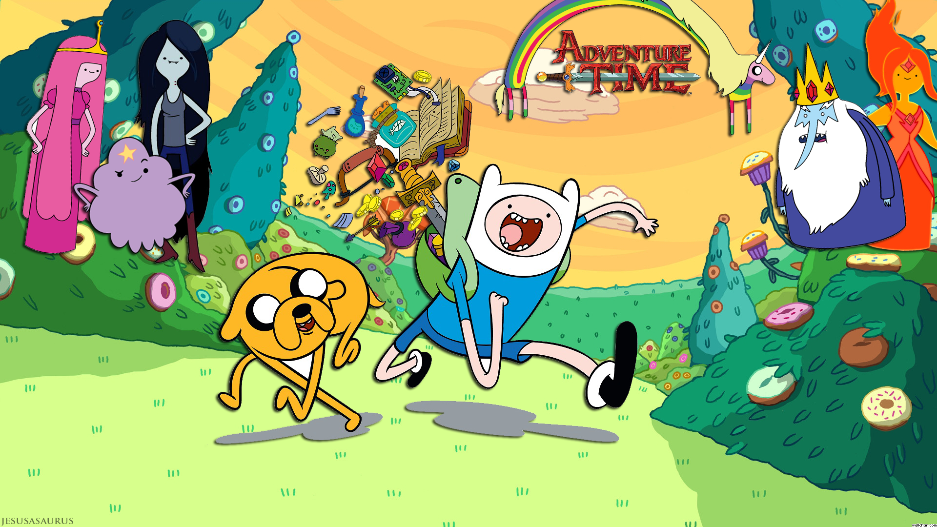 1920x1080 > Adventure Time Wallpapers