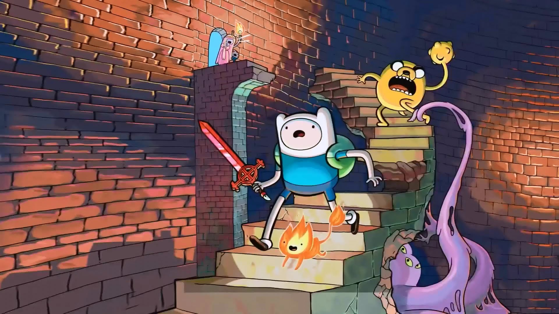 Adventure Time: Explore The Dungeon Because I Don't Know! Backgrounds, Compatible - PC, Mobile, Gadgets| 1920x1080 px