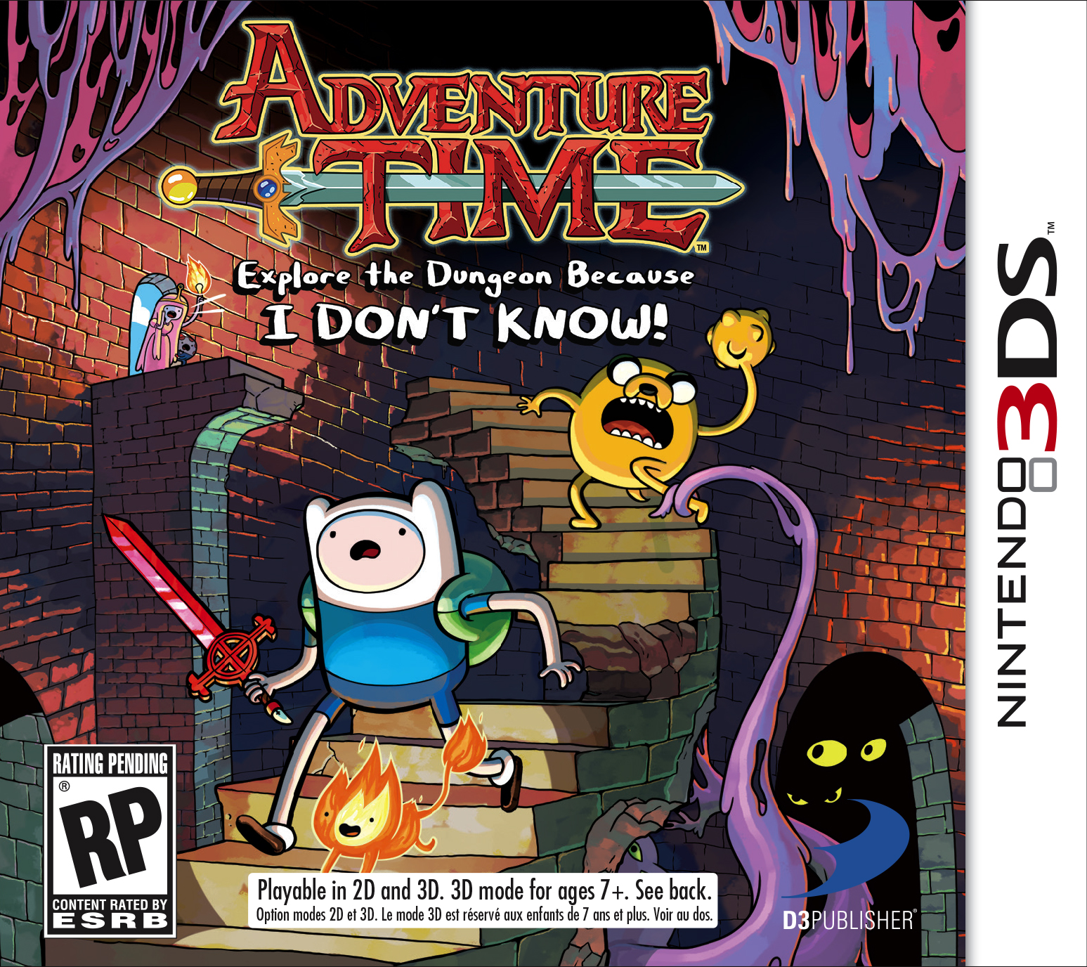 Nice Images Collection: Adventure Time: Explore The Dungeon Because I Don't Know! Desktop Wallpapers