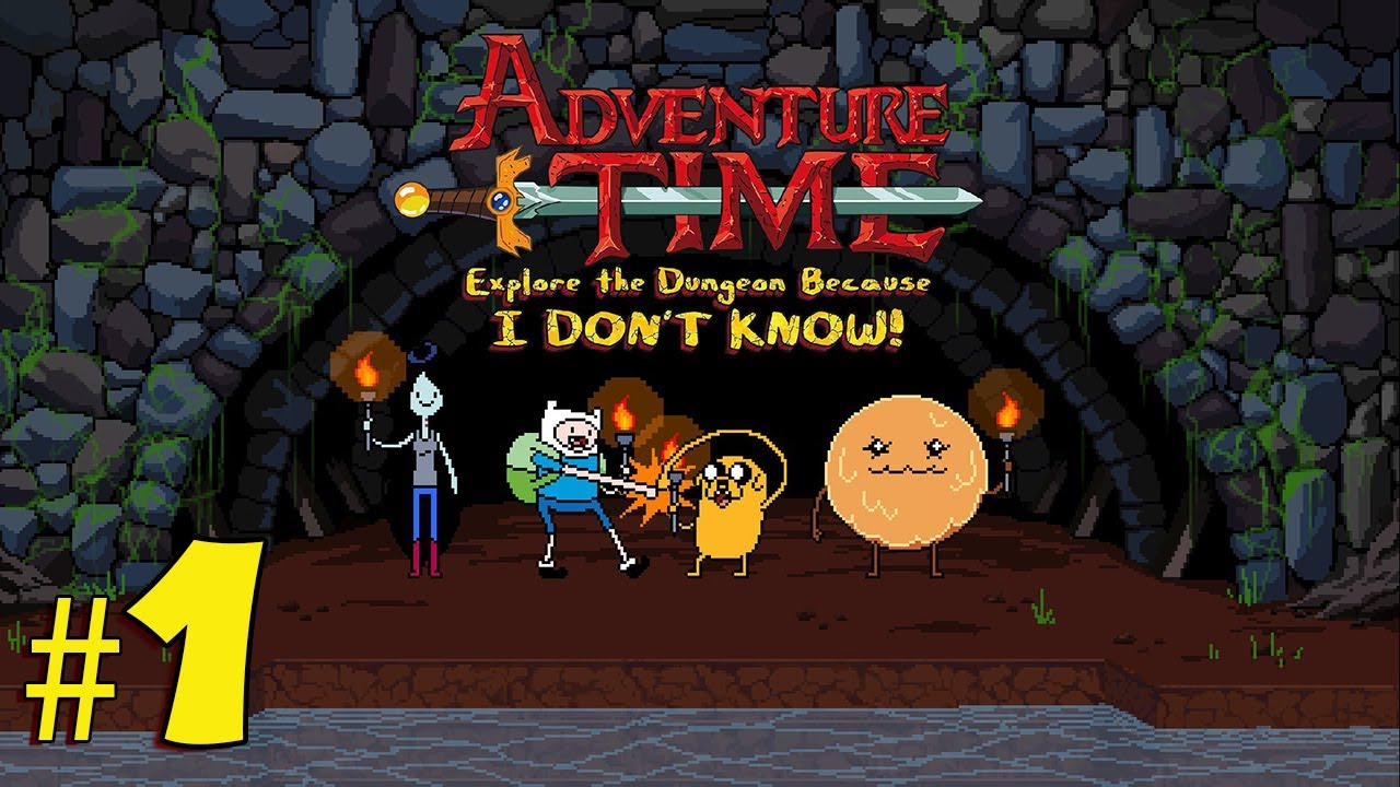 HD Quality Wallpaper | Collection: Video Game, 1280x720 Adventure Time: Explore The Dungeon Because I Don't Know!