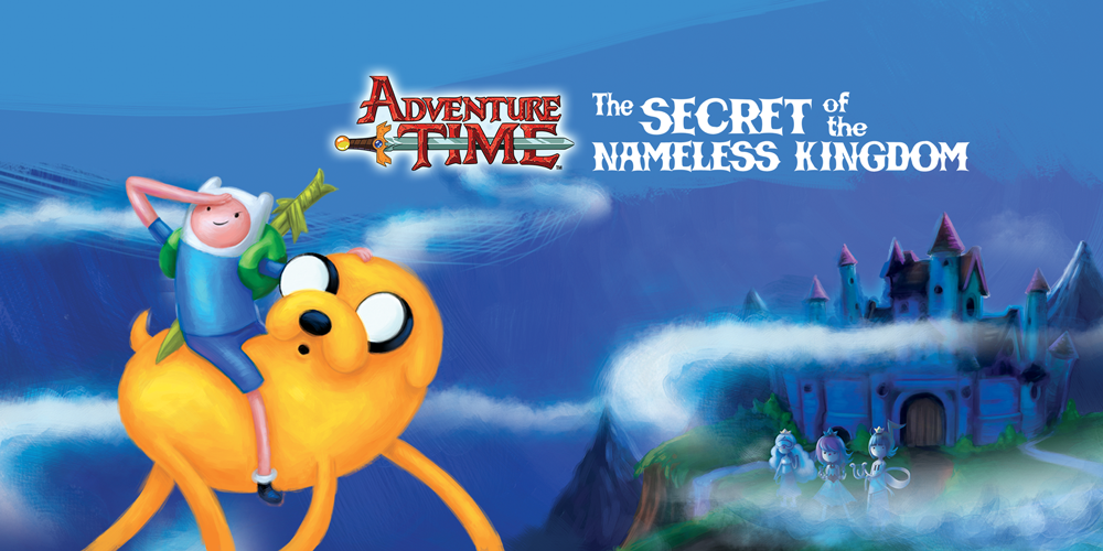 HD Quality Wallpaper   Collection: Video Game, 1000x500 Adventure Time: The Secret Of The Nameless Kingdom