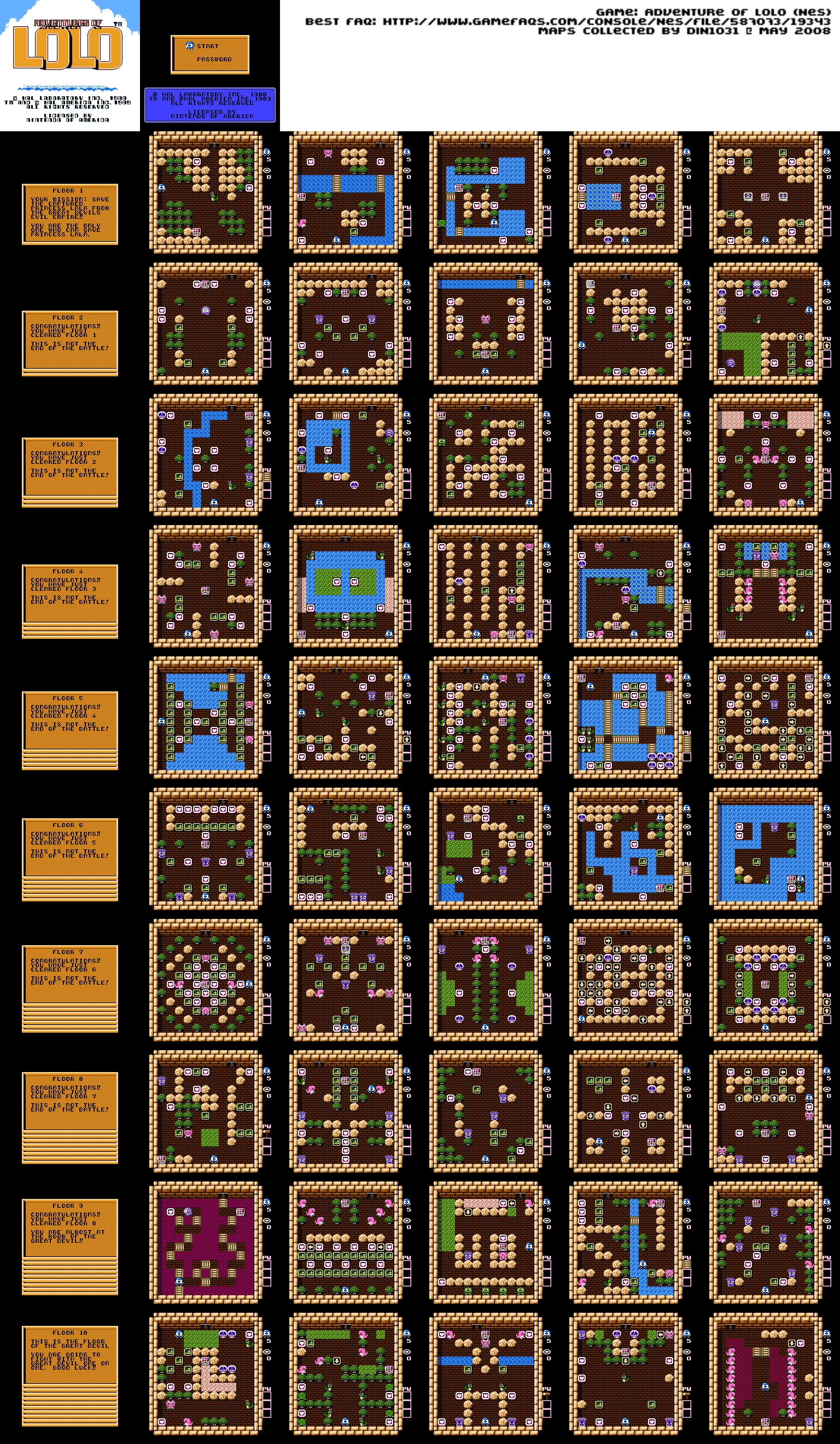 HD Quality Wallpaper | Collection: Video Game, 1536x2640 Adventures Of Lolo 3