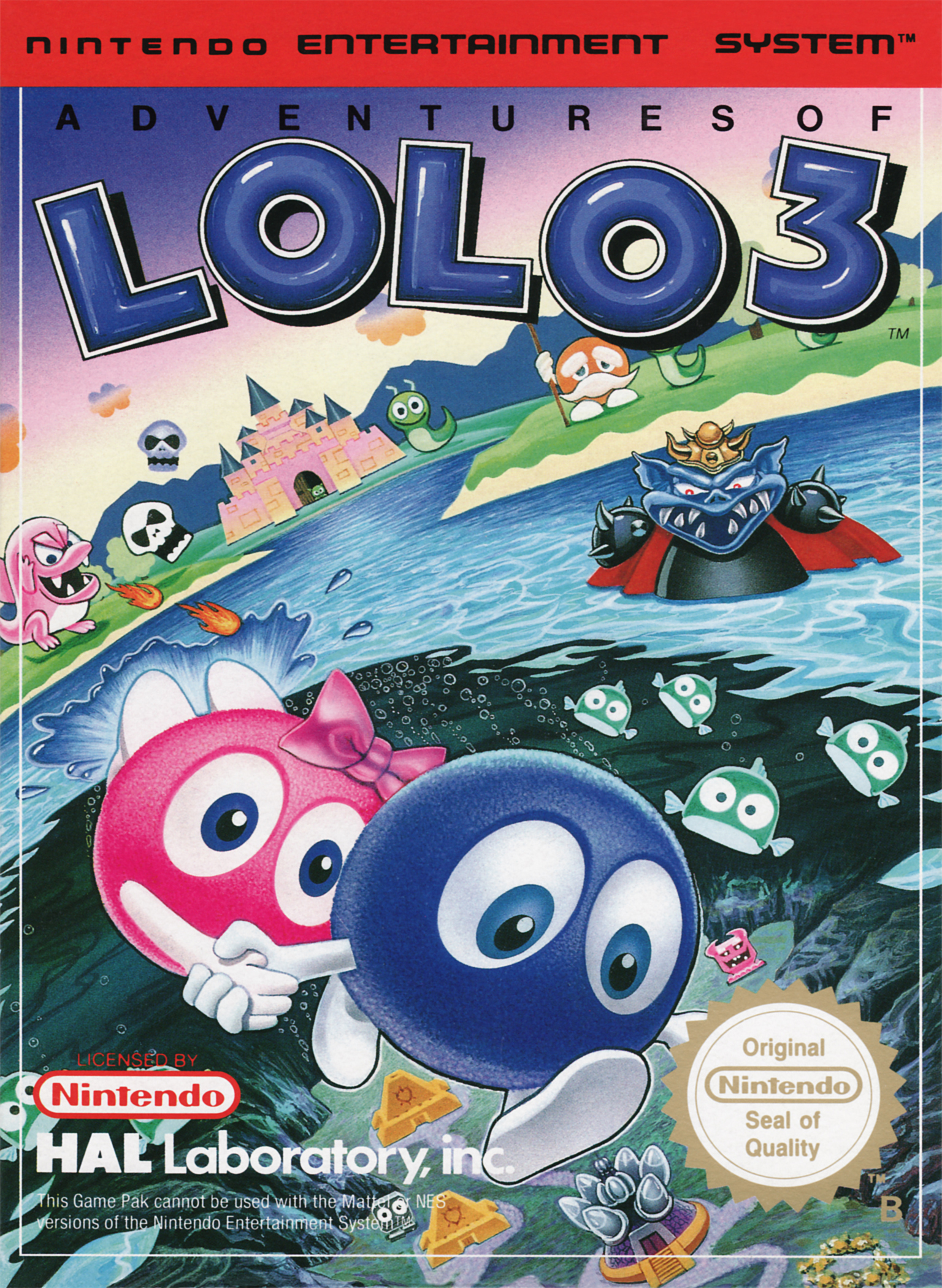 Adventures Of Lolo Pics, Video Game Collection