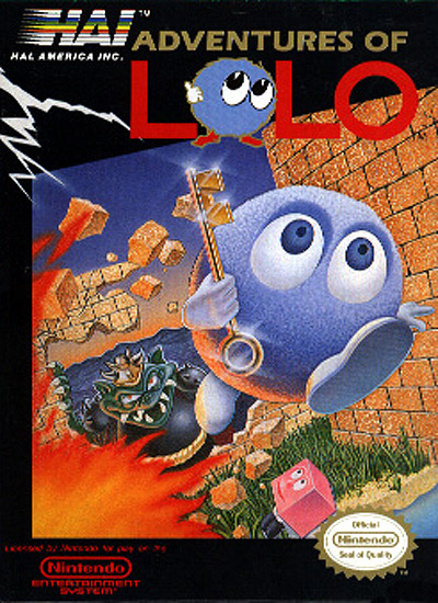 HD Quality Wallpaper   Collection: Video Game, 400x550 Adventures Of Lolo