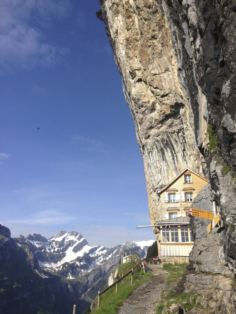 Nice Images Collection: Aescher Guesthouse Desktop Wallpapers