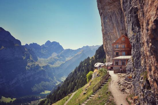 Aescher Guesthouse High Quality Background on Wallpapers Vista
