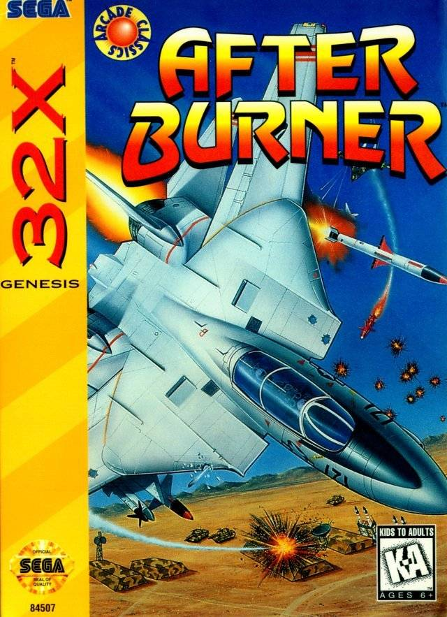 After Burner Complete Pics, Video Game Collection