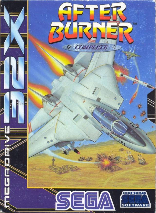 Nice wallpapers After Burner Complete 640x873px