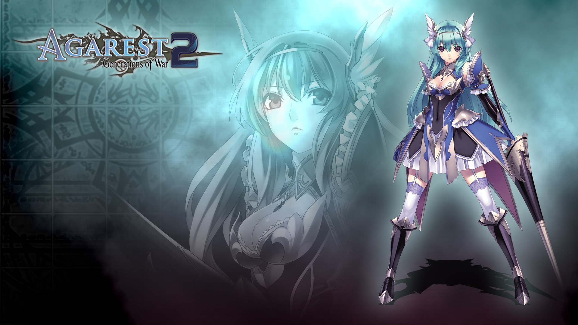 Nice wallpapers Agarest: Generations Of War 2 1920x1080px