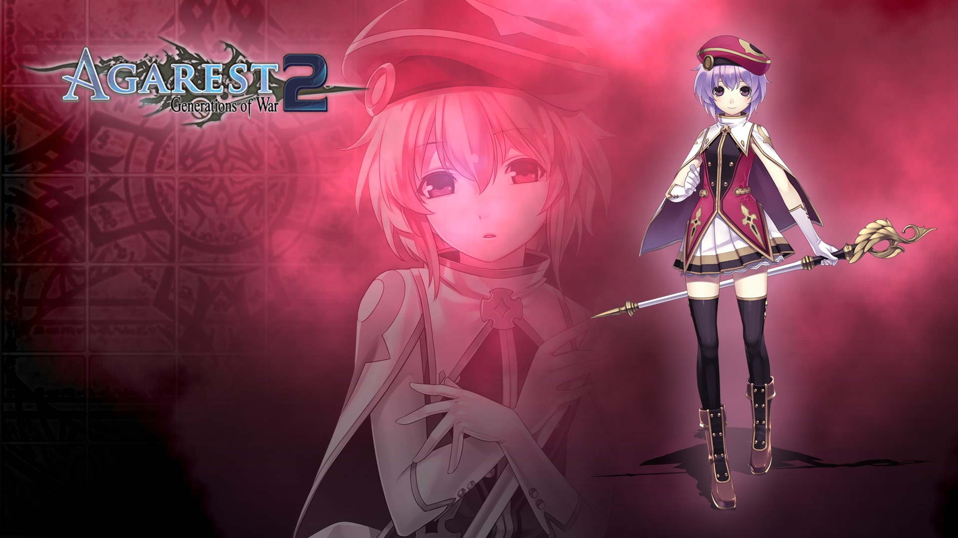 Nice Images Collection: Agarest: Generations Of War 2 Desktop Wallpapers