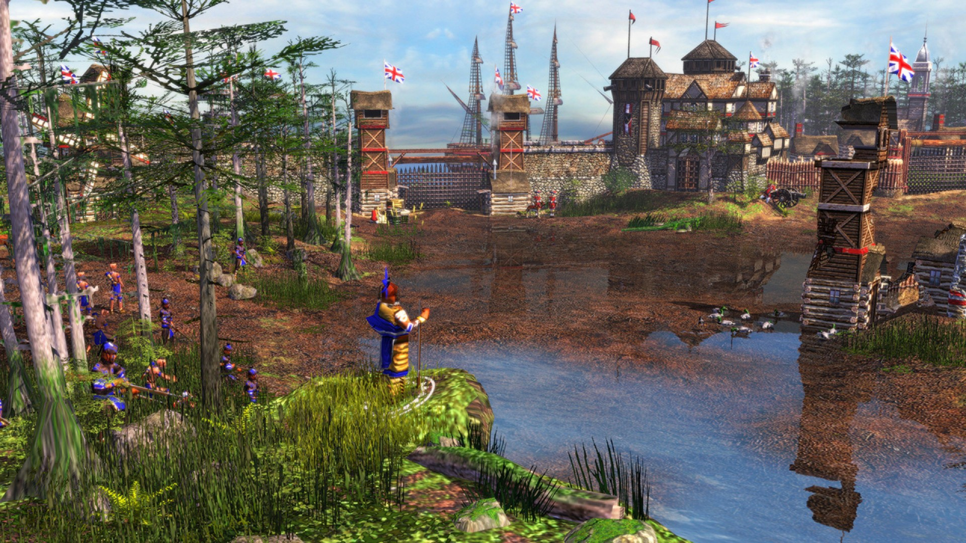 Age Of Empires III Backgrounds, Compatible - PC, Mobile, Gadgets| 1920x1080 px