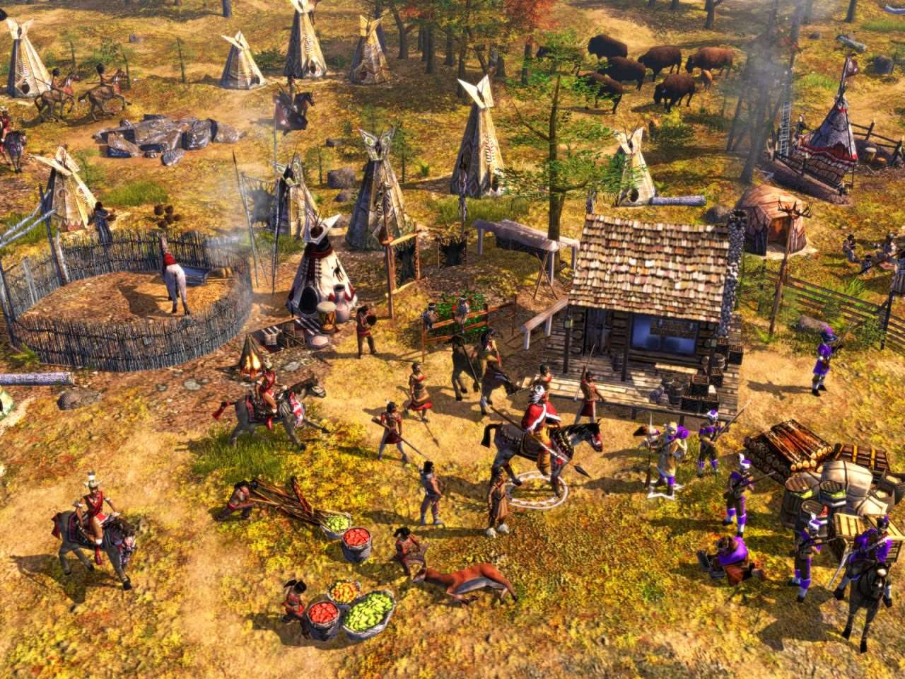 High Resolution Wallpaper | Age Of Empires III 1280x960 px