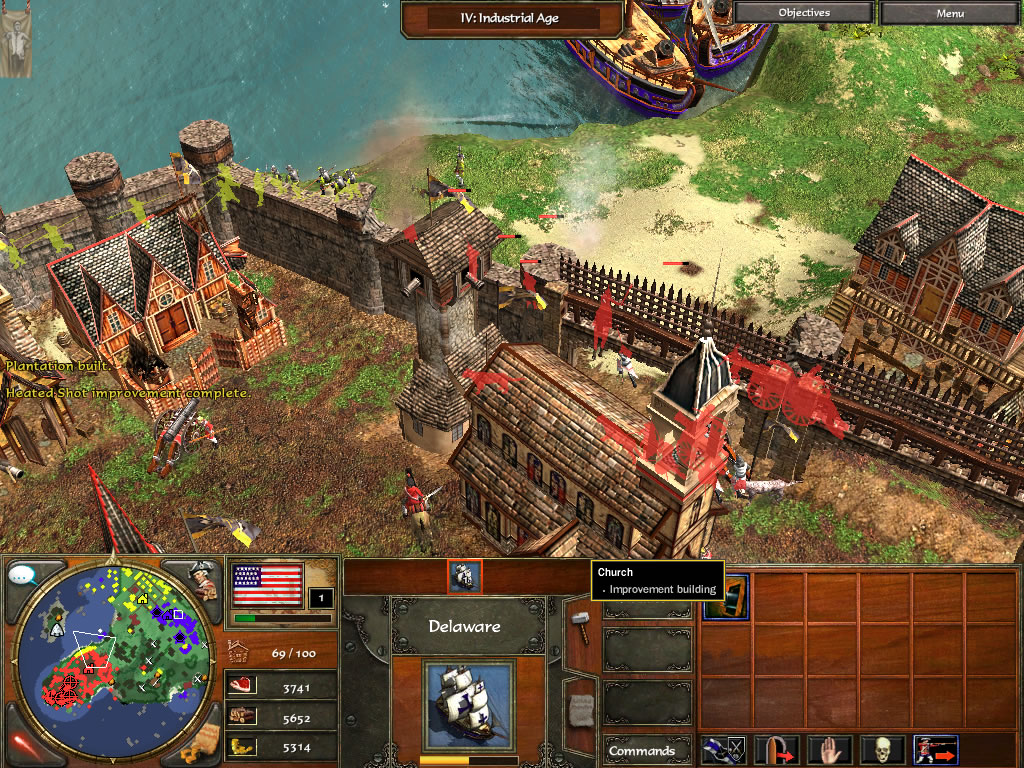 High Resolution Wallpaper | Age Of Empires III 1024x768 px