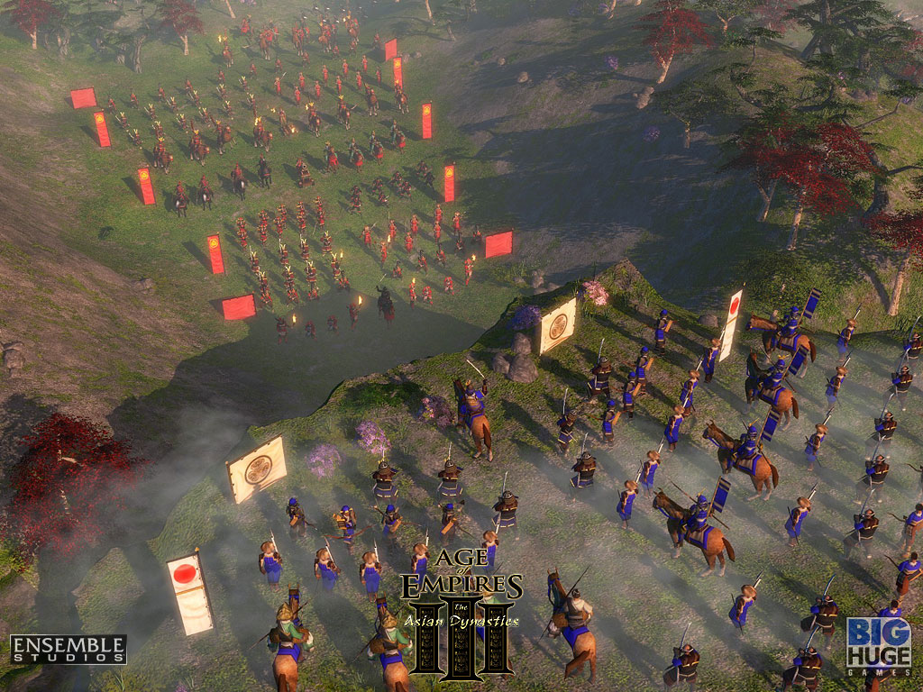 HD Quality Wallpaper | Collection: Video Game, 1024x768 Age Of Empires III: The Age Of Dynasties