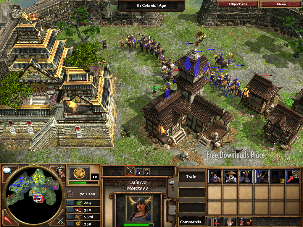 High Resolution Wallpaper | Age Of Empires III: The Age Of Dynasties 1024x768 px
