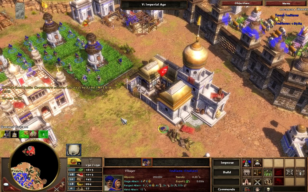 Age Of Empires III: The Age Of Dynasties High Quality Background on Wallpapers Vista