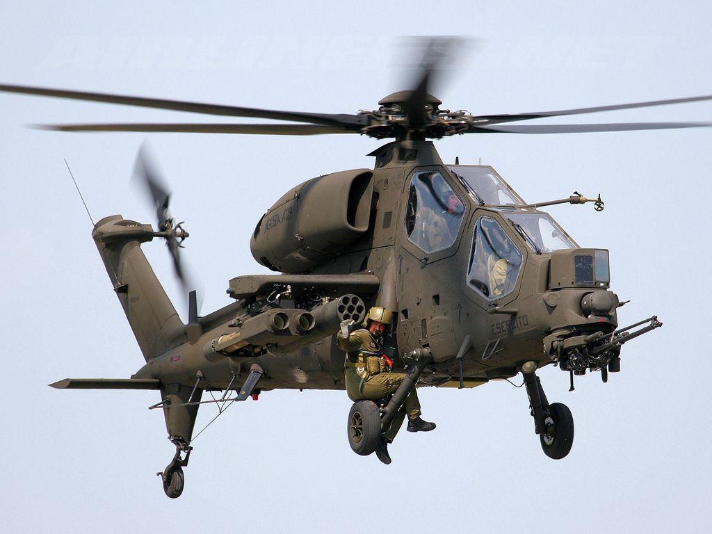 HD Quality Wallpaper | Collection: Military, 1024x768 Agusta A129 Mangusta