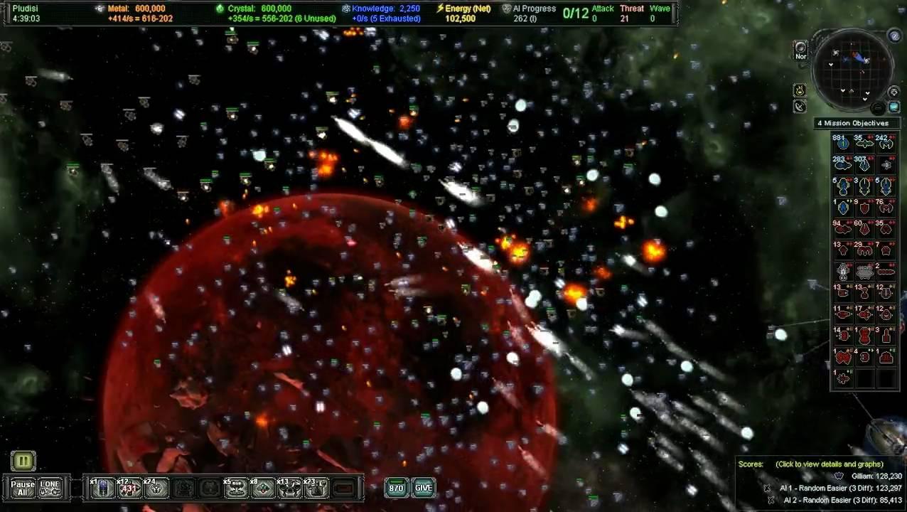 HD Quality Wallpaper | Collection: Video Game, 1276x720 AI War: Fleet Command