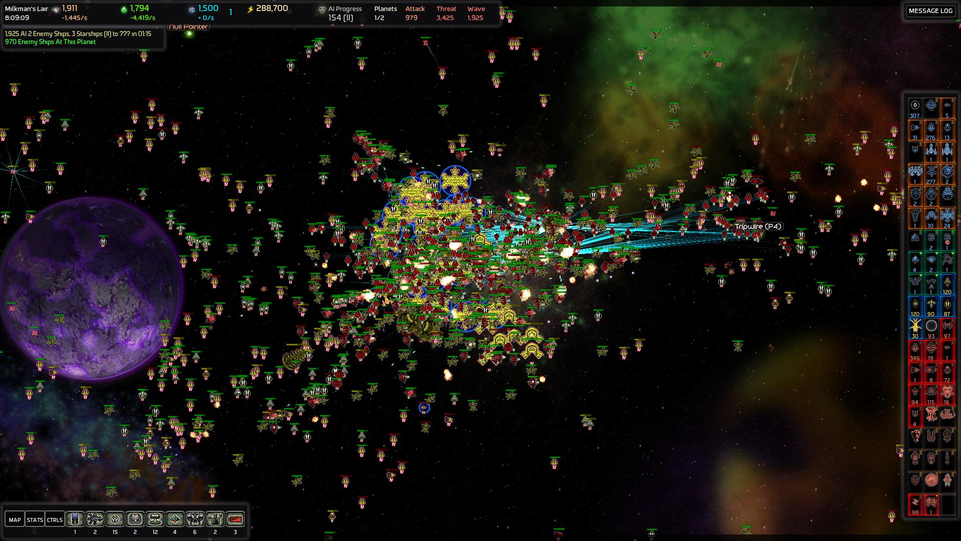 Nice Images Collection: AI War: Fleet Command Desktop Wallpapers