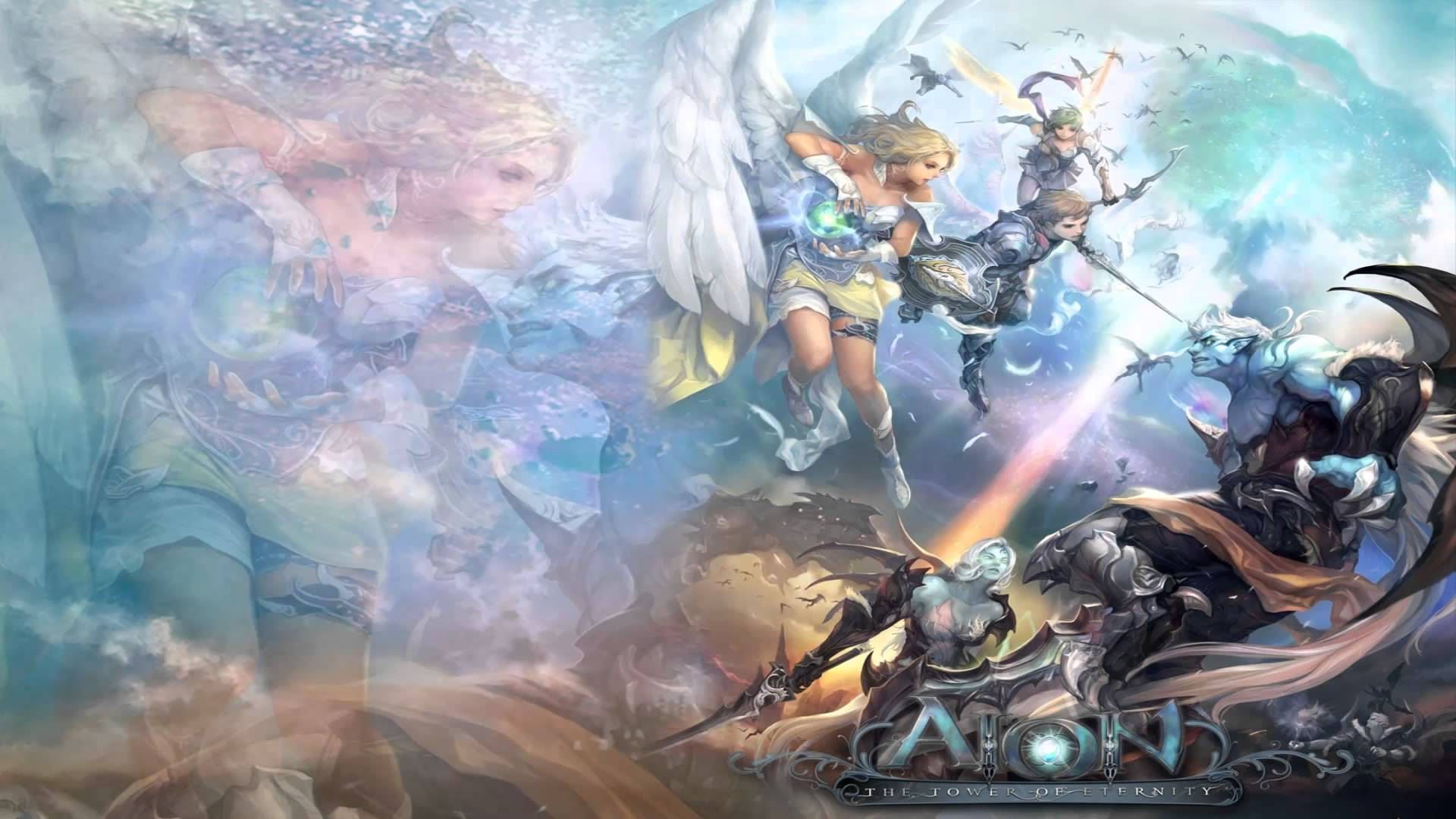Aion: Tower Of Eternity Backgrounds, Compatible - PC, Mobile, Gadgets  1920x1080 px