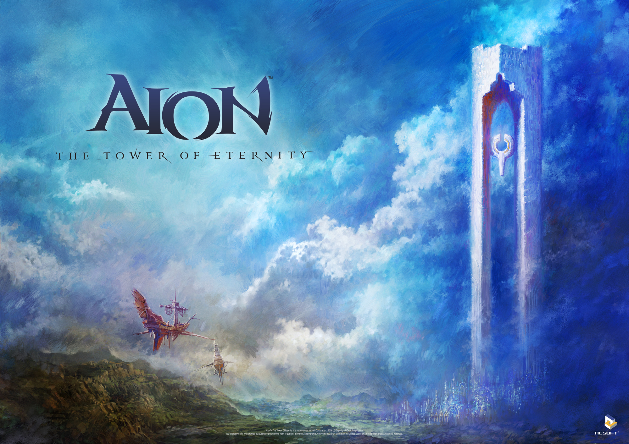 High Resolution Wallpaper   Aion: Tower Of Eternity 2000x1413 px