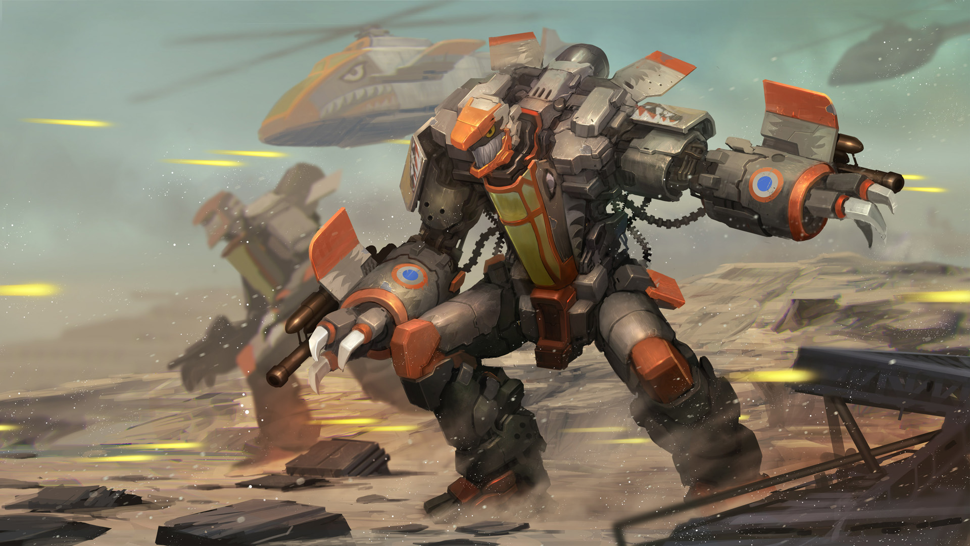 AirMech High Quality Background on Wallpapers Vista