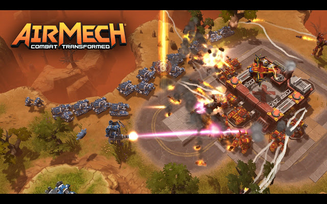 HD Quality Wallpaper | Collection: Video Game, 640x400 AirMech