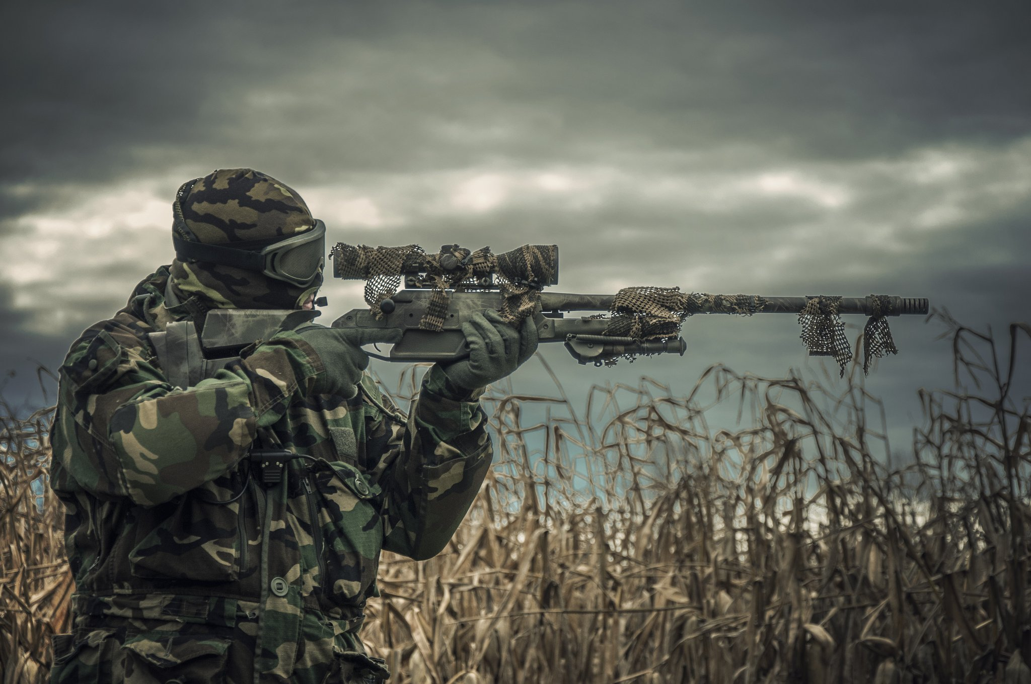 HD Quality Wallpaper | Collection: Weapons, 2048x1360 Airsoft