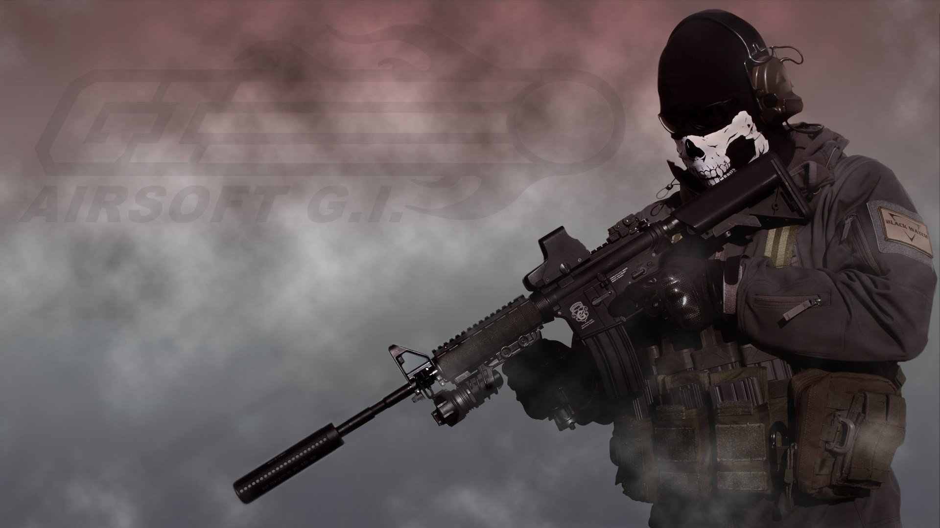 HD Quality Wallpaper | Collection: Weapons, 1920x1080 Airsoft