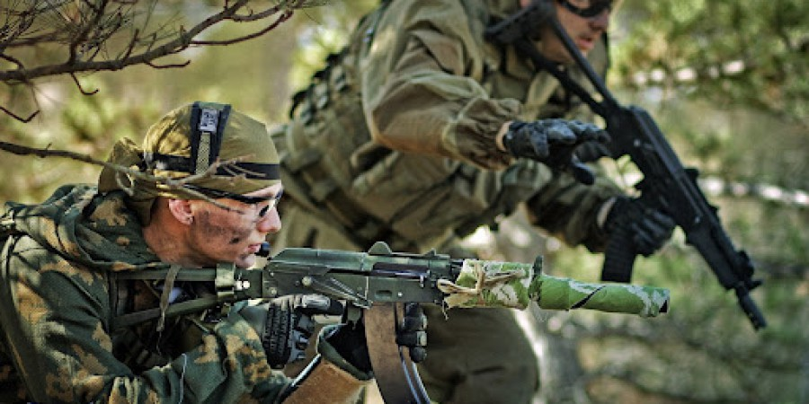 HD Quality Wallpaper | Collection: Weapons, 900x450 Airsoft