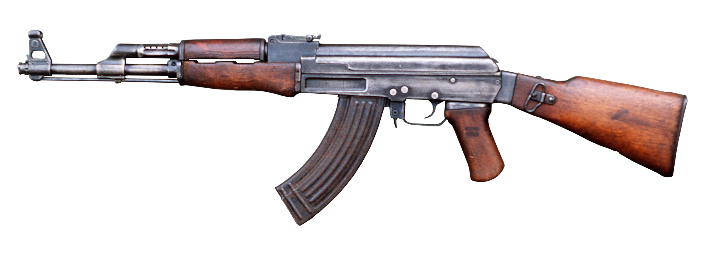 HD Quality Wallpaper | Collection: Weapons, 2365x854 Ak-47
