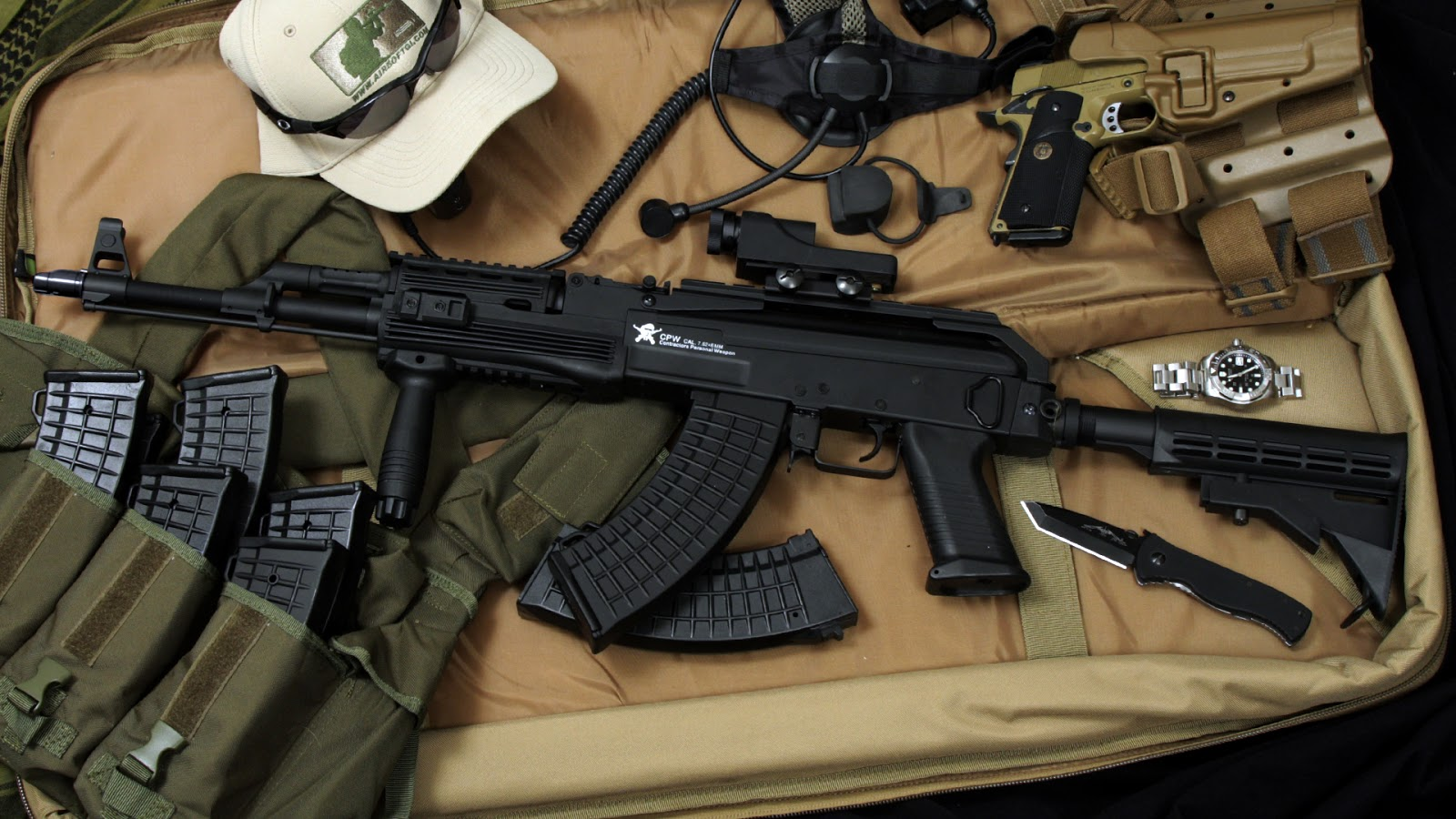 Ak-47 High Quality Background on Wallpapers Vista