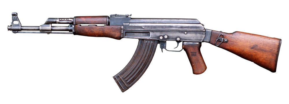 Nice Images Collection: AK-47 Rifle Desktop Wallpapers
