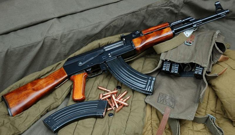 AK-47 Rifle High Quality Background on Wallpapers Vista