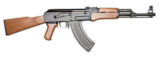 HD Quality Wallpaper | Collection: Weapons, 320x118 AK-47 Rifle