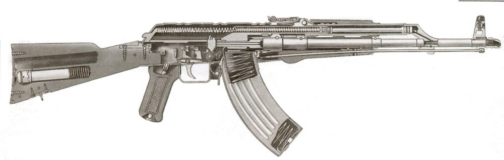 AK-47 Rifle Backgrounds on Wallpapers Vista