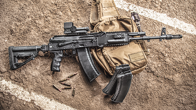 HD Quality Wallpaper | Collection: Weapons, 684x384 Ak-74