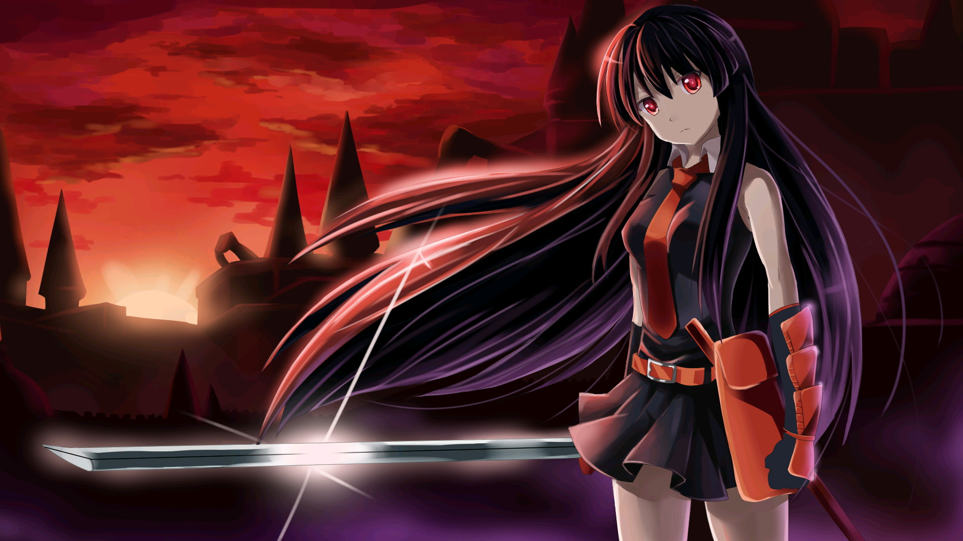 Akame Ga Kill Wallpapers Anime Hq Akame Ga Kill Pictures 4k Wallpapers 2019
