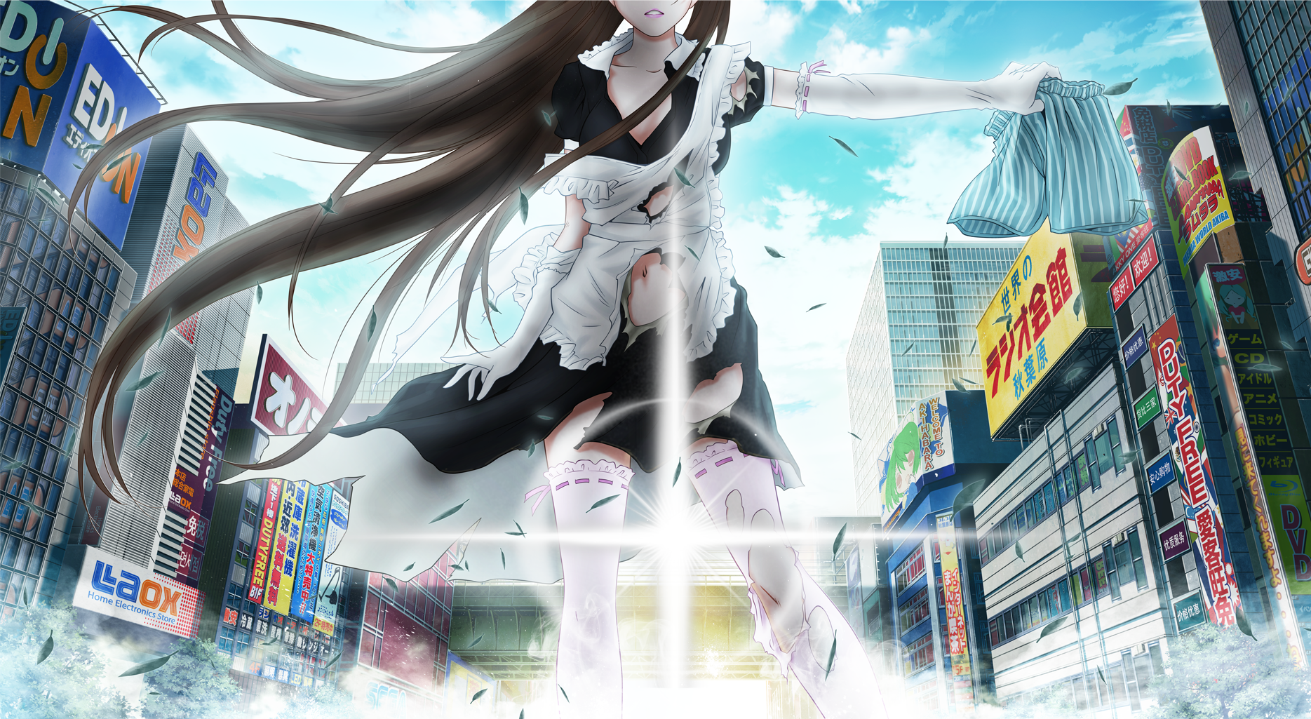 HQ AKIBA'S TRIP: Undead & Undressed Wallpapers | File 2992.33Kb