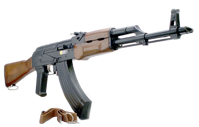 Nice Images Collection: Akm Assault Rifle Desktop Wallpapers