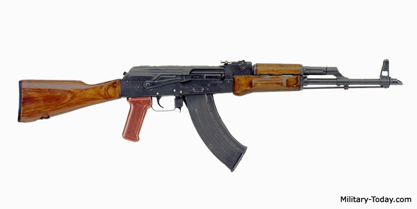 HD Quality Wallpaper | Collection: Weapons, 600x301 Akm Assault Rifle