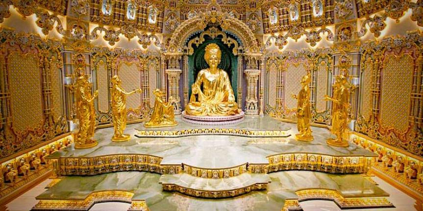 HD Quality Wallpaper | Collection: Religious, 863x430 Akshardham