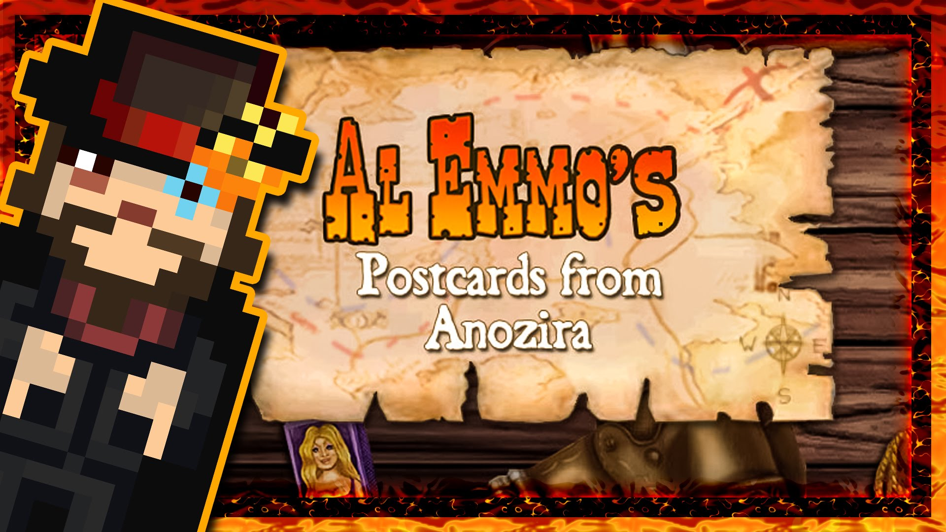 Al Emmo's Postcards From Anozira Pics, Video Game Collection