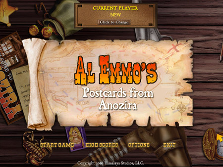 HQ Al Emmo's Postcards From Anozira Wallpapers | File 107.08Kb