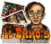 Nice Images Collection: Al Emmo's Postcards From Anozira Desktop Wallpapers