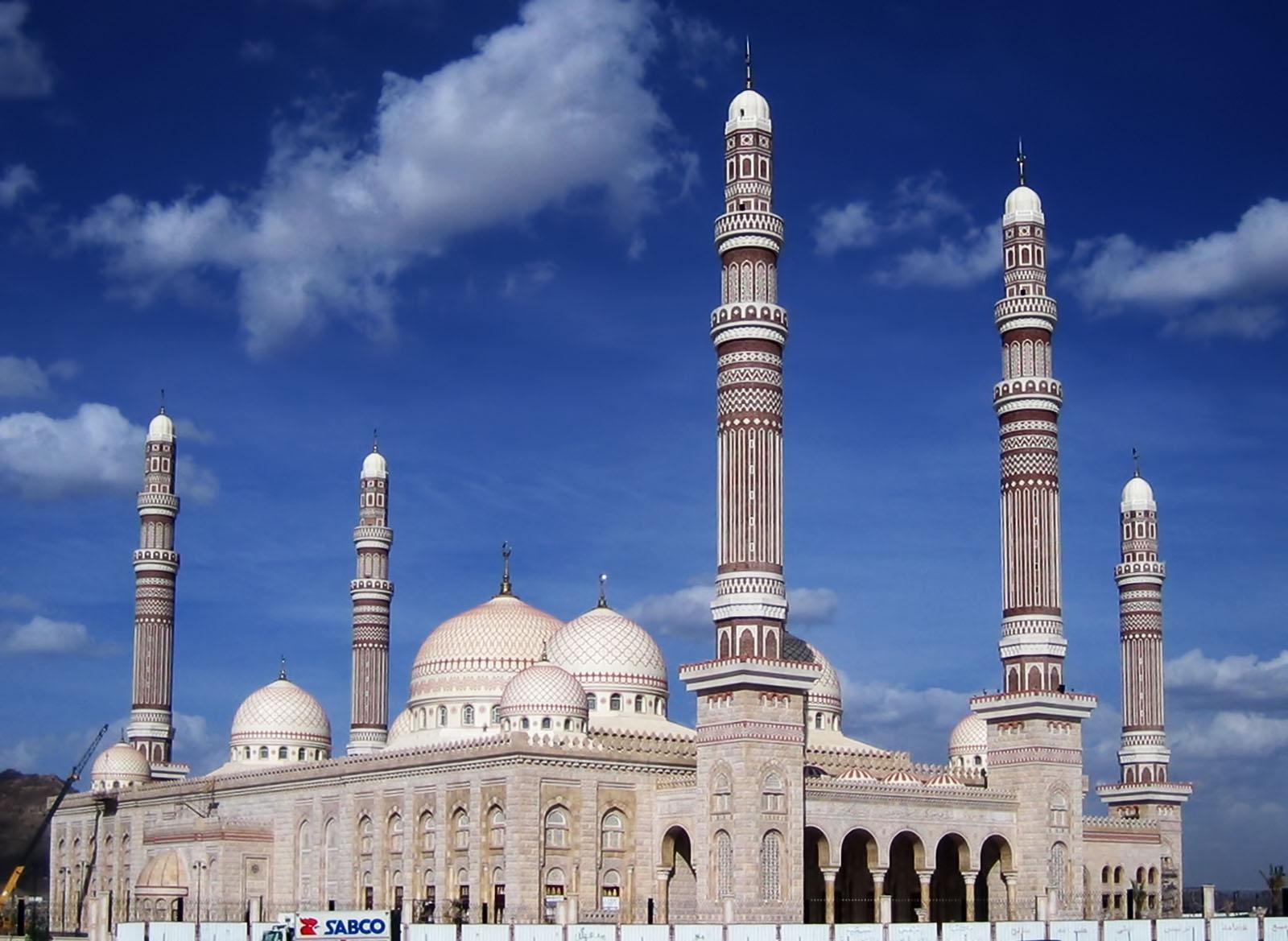 High Resolution Wallpaper | Al Saleh Mosque 1600x1169 px