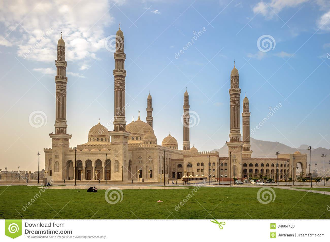 Al Saleh Mosque Backgrounds, Compatible - PC, Mobile, Gadgets| 1300x955 px